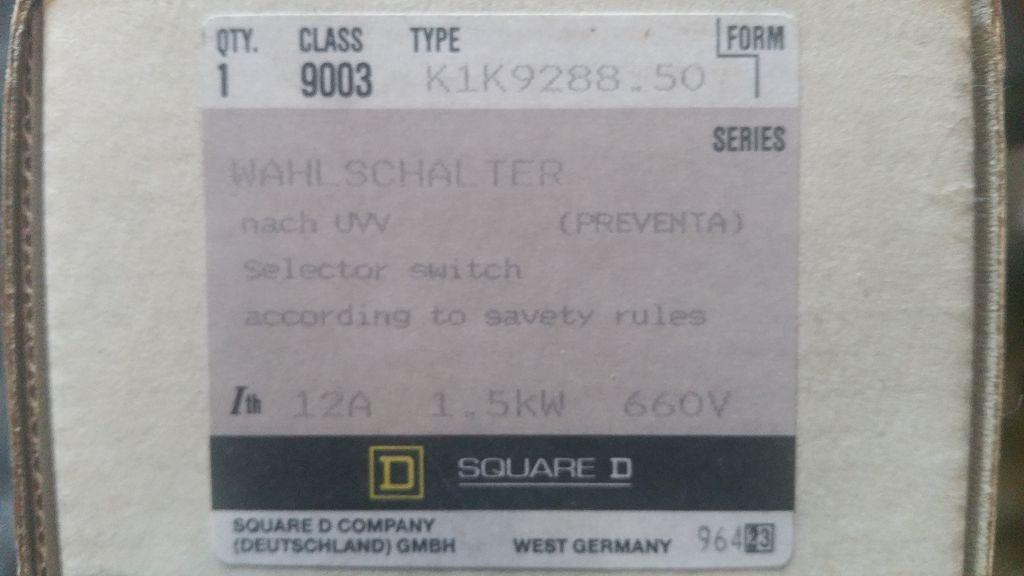 Square-Wahlschalter-K1K9288.50
