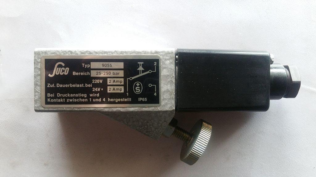Suco-9055-25-250bar-Druckschalter